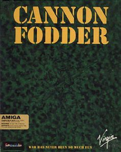 cannon fodder front cover
