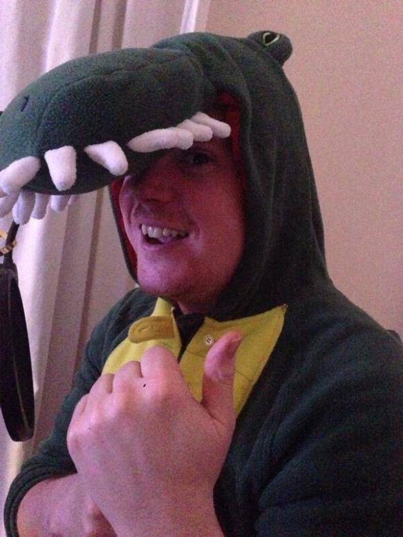 The Christmas Crocodile joins us on the podcast